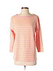 Talbots Women 3/4 Sleeve T-Shirt Size M