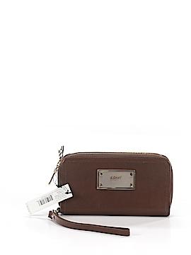 Donna Karan New York Leather Wristlet One Size