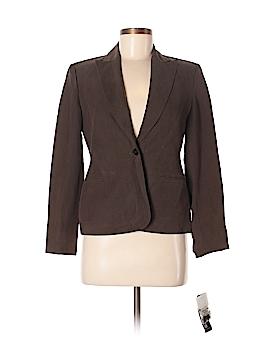 Jones New York Silk Blazer Size 4 (Petite)