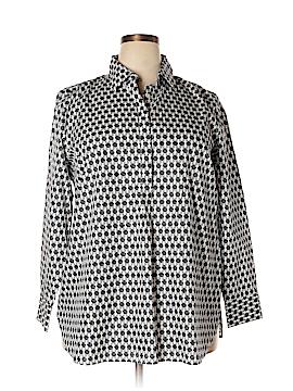 Eddie Bauer Long Sleeve Button-Down Shirt Size 18W (Plus)