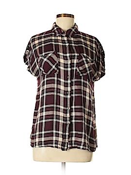 Fab'rik Short Sleeve Button-Down Shirt Size M