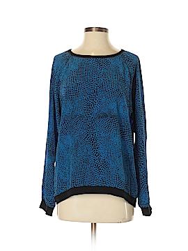 Tibi Silk Pullover Sweater Size S