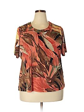 Alia Short Sleeve Blouse Size 1X (Plus)