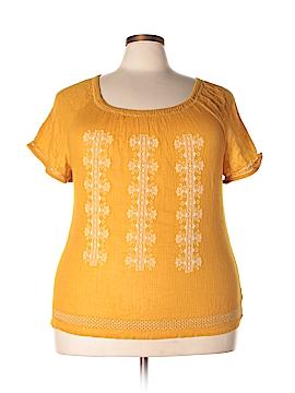 Charter Club Short Sleeve Blouse Size 20W (Plus)