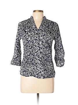 Marisa Christina 3/4 Sleeve Button-Down Shirt Size M