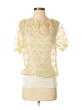 Vivienne Tam Short Sleeve Blouse Size XS (0)