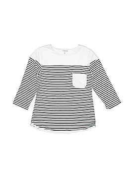 Monteau Girl 3/4 Sleeve Top Size 8