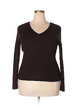 Jones New York Signature Pullover Sweater Size 1X (Plus)