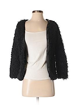 Fashion Collection Faux Fur Jacket Size S