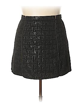 Xhilaration Faux Leather Skirt Size XL
