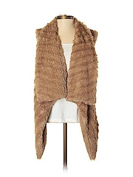 Celebrity Pink Faux Fur Vest Size XS