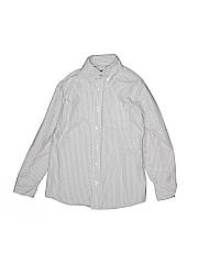 Lands' End Boys Long Sleeve Button-Down Shirt Size Large kids (7)