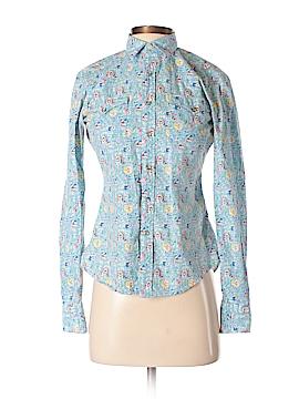 Ralph Lauren Blue Label Long Sleeve Button-Down Shirt Size 4