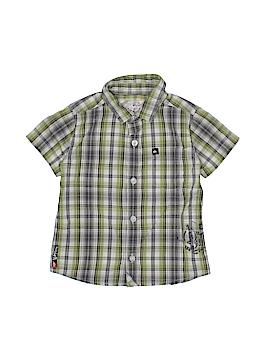 Quiksilver Short Sleeve Button-Down Shirt Size 24 mo