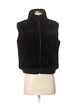 Mixit Faux Fur Vest Size Sm - Med