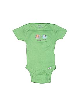 DKNY Short Sleeve Onesie Newborn
