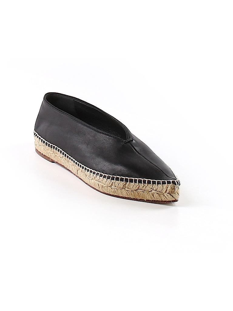 86f02f3f23c Céline 100% Leather Solid Black Flats Size 36 (EU) - 46% off