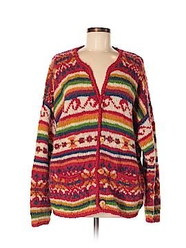 Express Tricot Wool Cardigan Size M