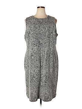 Lands' End Casual Dress Size 24 (Plus)