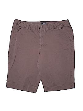 A.n.a. A New Approach Khaki Shorts Size 20W (Plus)
