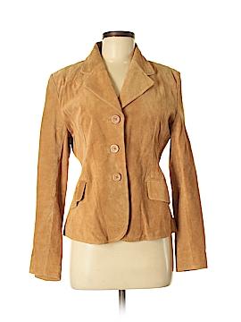 Metro Style Leather Jacket Size 8