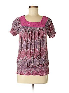 Allison Brittney Short Sleeve Top Size M