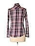 Natural Reflections Women Long Sleeve Button-Down Shirt Size S