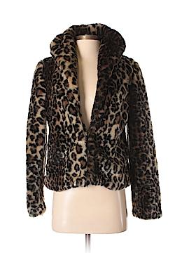 Sparkle & Fade Faux Fur Jacket Size XS