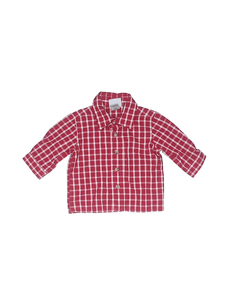 Goodlad Of Philidelphia Boys Long Sleeve Button-Down Shirt Size 3-6 mo
