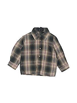 Mark Jason Long Sleeve Button-Down Shirt Size 18 mo