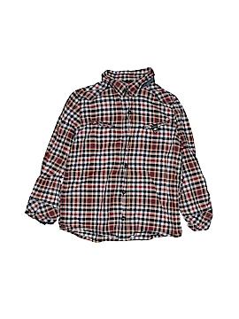 Catimini Long Sleeve Button-Down Shirt Size 6