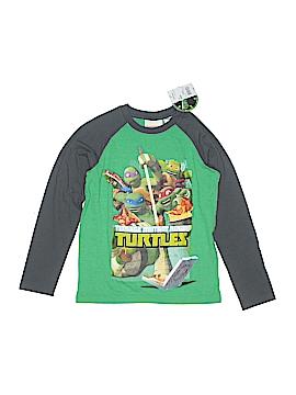 Nickelodeon Long Sleeve T-Shirt Size 8 (Slim)