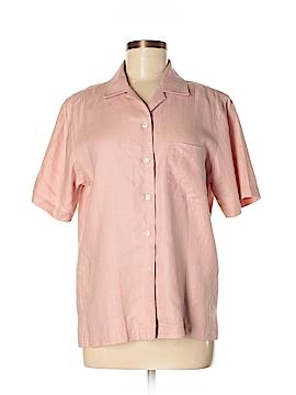 Jones New York Short Sleeve Button-Down Shirt Size M