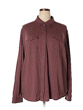 Columbia Long Sleeve Button-Down Shirt Size 3X (Plus)