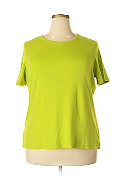 Kim Rogers Short Sleeve T-Shirt Size 1X (Plus)