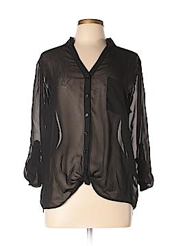 Noelle Long Sleeve Blouse Size L