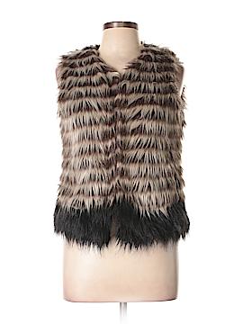 Yoki Faux Fur Vest Size M
