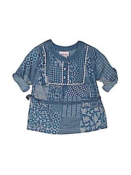 Little Lass 3/4 Sleeve Button-Down Shirt Size 2T