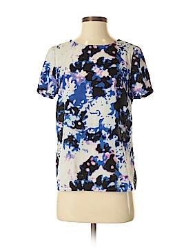 Dalia Collection Short Sleeve Blouse Size XS