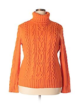 L-RL Lauren Active Ralph Lauren Turtleneck Sweater Size 1X (Plus)