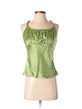 New York City Design Co. Sleeveless Silk Top Size S