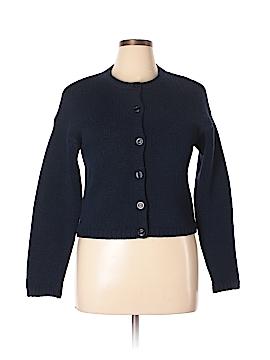 Sisley Wool Cardigan Size L