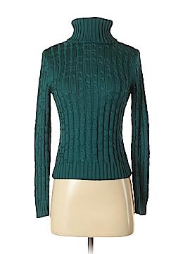 Adrienne Vittadini Silk Pullover Sweater Size XS