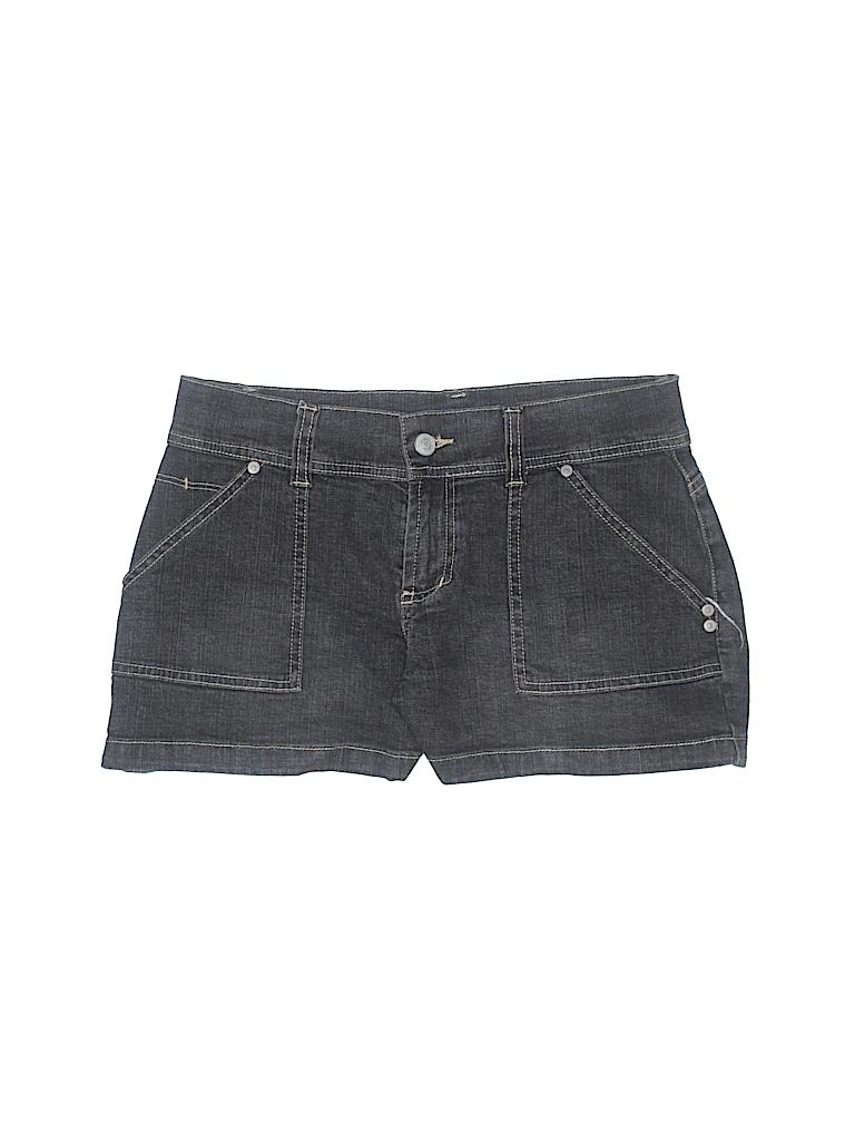 7004a18a5e29 No Boundaries Solid Black Denim Shorts Size 5 - 94% off
