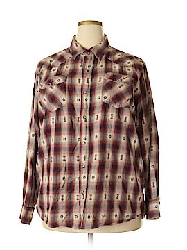 C.E. Schmidt Workwear Long Sleeve Button-Down Shirt Size XL