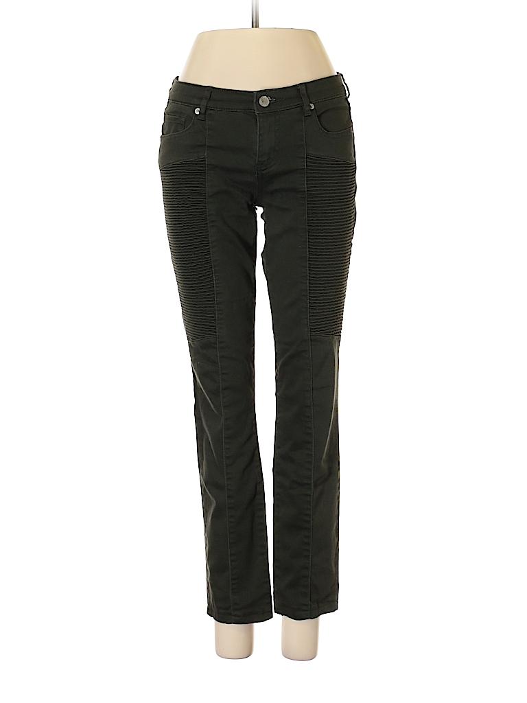e3bf8e036cca Joe Fresh Solid Dark Green Jeans 26 Waist - 85% off | thredUP