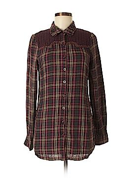Sugar Lips Long Sleeve Button-Down Shirt Size M