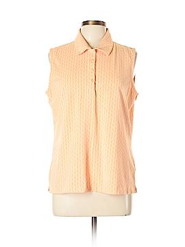 EP Pro Sleeveless Button-Down Shirt Size XL