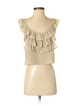 Amanda Uprichard Sleeveless Silk Top Size S