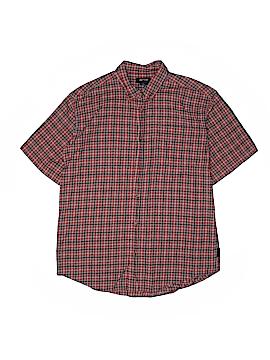 Arrow Short Sleeve Button-Down Shirt Size 14 - 16